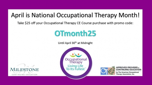 National Occupational Therapy Month 2015 #OTmonth