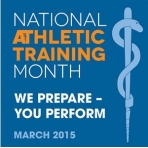 National Athletic Training Month NATM2015